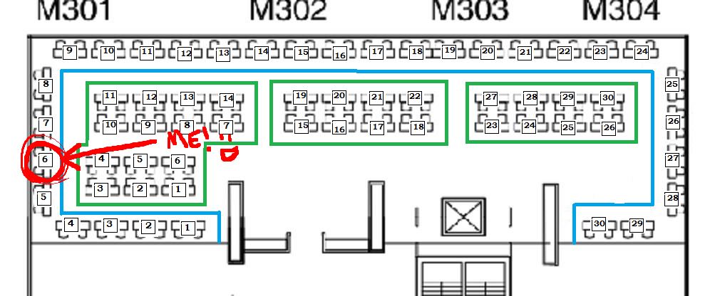 Artist Alley Seating Chart